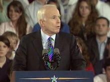 McCain: 'I'm not afraid of fight'