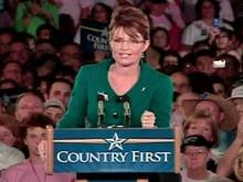 Web only: Palin speaks in Raleigh