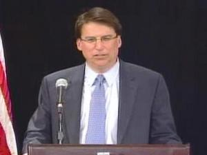 Republican Pat McCrory joked that he didn't like long concession speeches and gave a short one right before 11 p.m. Nov. 4, 2008. His opponent, Democrat Beverly Perdue, clung to a slim, three-point lead.
