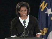 Web only: Michelle Obama praises Fayetteville