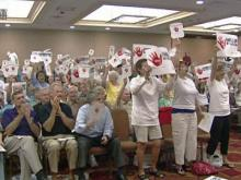 Rally held against government-run care