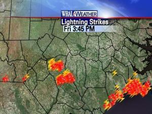Lightning strikes, 9/25/09