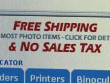 Perdue: Congress should stop online sales tax break