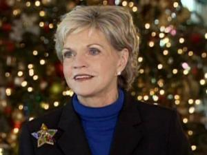 Gov. Beverly Perdue reflects on her first year in office during a Dec. 22, 2009, discussion with reporters.