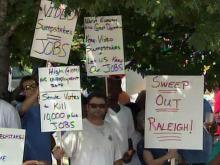 Sweepstakes cafe supporters fight proposed ban