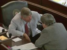 The North Carolina General Assembly held an all-night session from Friday, July 9, 2010, into the morning of Saturday, July 10, 2010. They negotiated on ethics reform and DNA database bills.