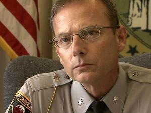 N.C. Highway Patrol commander Col. Michael Gilchrist