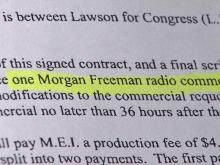 Candidate thought he had contract with actor