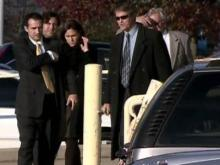 Relatives of Edwards donor at Raleigh courthouse