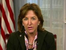 Sen. Hagan on withdrawing troops from Afghanistan