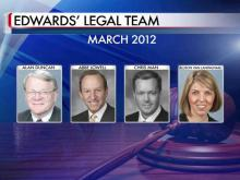 Four attorneys to represent Edwards at trial