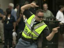 'Dancing Deputies' put fun into DNC security