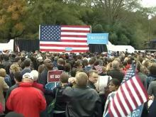 Bill Clinton speaks in Raleigh