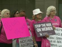 Opponents again cry foul over swift passage of abortion bill