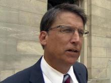 McCrory again threatens budget veto