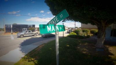 Main Street in Yadkinville