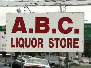 ABC store sign, Alcoholic Beverage Control