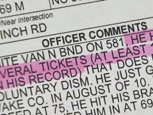 State agency investigates employee's driving record