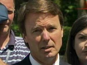 "John Edwards says he ""did not break the law"" after pleading not guity to federal charges in a Winston-Salem courthouse on June 3, 2011."