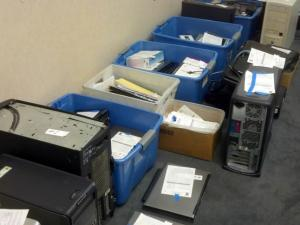 The state Attorney General's Office recovered 131 computers and other items from three Raleigh Geeks computer repair shops accused of engaging in deceptive practices, officials said on June 27, 2014.