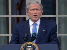 Bush congratulates Obama