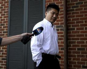 Kin Yiu Cheung arrives at Caroline County General District court in Bowling Green, Va. Friday, June 3, 2011 for his arraignment on wreckless driving charges that stem from a fatal bus accident in Virginia earlier in the week. (AP Photo/The Free Lance Star, Reza A. Marvashti)
