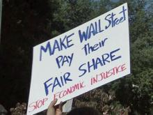 'Occupy' rally held in Raleigh