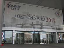Romney headquarters in Boston