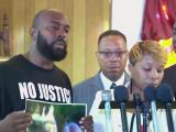Ferguson family asks for understanding, peace