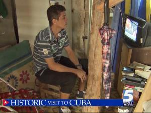 President Obama speaks to the people of Cuba