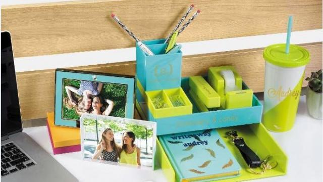 Gifts that help new grads personalize their work space can be stylish and thoughtful.