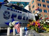 Memorial in Dallas honors fallen officers
