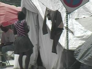 Donations to the Red Cross are helping build transitional housing to replace tent cities that popped up across Haiti after the devastating Jan. 12, 2010, earthquake.
