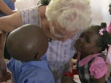 Woman finds second family in Haiti