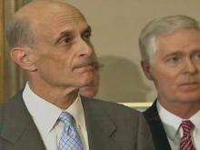 WEB ONLY: Easley, Chertoff Discuss Storm Readiness