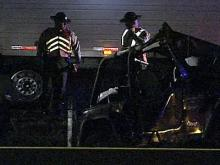 A jeep flipped over on Interstate-95 near the Wilson-Nash County line, killing two Fort Bragg soldiers.