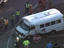 Sky 5 Video: Day Care Bus Accident in Sanford