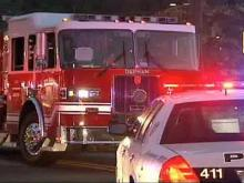 Fire Damages Apartment Complex; Two Residents Sent to Hospital