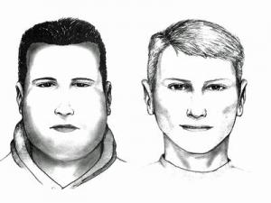A police composite of the suspects.