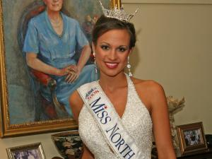 Amanda Lauren Watson, Miss Garner, was chosen on Saturday, June 21, 2008. (Photo courtesy Pageantpics.com)