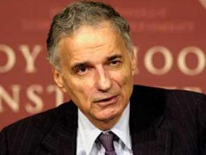 Ralph Nader, who gained fame as a consumer advocate, is running for president for the third time. He makes his 2008 run as an independent candidate. (Photo courtesy www.votenader.org)