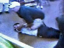 Cell phone video shows the arrest of a man suspected in a shooting at a Wal-Mart store on N.C. Highway 87 in Sanford on Friday, Aug. 1, 2008.