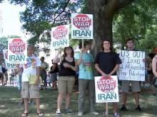N.C. group protests war with Iran