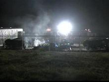 Fire erupts at Harnett County self storage complex