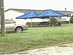 Akeem Juan Jones, of Dunn, was shot during an altercation at party at this house at 139 Bears Lane around 1:40 a.m. on Sunday, Aug. 17, 2008, said Maj. Gary McNeil.