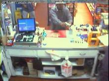 Surveillance video of Garner store robbery