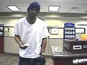 Security cameras caught a man who robbed the Fifth Third Bank, 1145 U.S. Highway 70 in Garner, on the afternoon of Friday, Nov. 7, 2008.