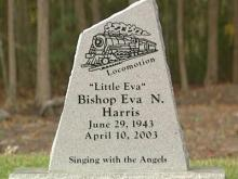 New gravestone unveiled for 'Loco-Motion' singer