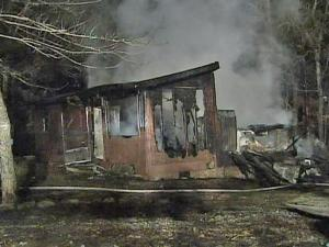 A man suffered burns when a propane tank exploded at his house in the 600 block of Winding Creek Drive in Carthage around 9:30 p.m. Thursday, Nov. 20, 2008.