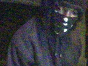 Durham police are trying to identify a man believed to be responsible for four robberies at a drive-through ATM.